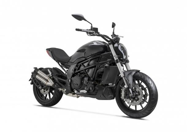 motocykl Benelli 502C